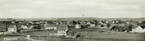 Augsburger Straße von der Papierfabrik aus (um 1900)
