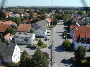 Blick vom Kirchturm 2001