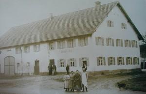 """Gastwirtschaft """"Krone"""" 1920"""