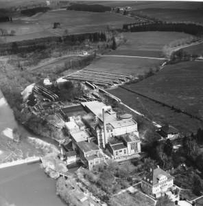 Sportanlage nordöstlich der Papierfabrik 1957