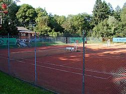 Tennisplätze und Vereinsheim SC Blau-Weiß
