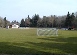 Wertachstadion mit Vereinsheim 2003