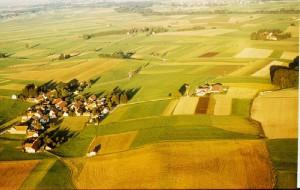 Luftaufnahme von 1977