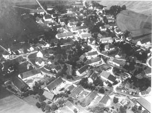 Erste Luftaufnahme von 1922