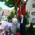 v.l.: Anton Käsbauer und Dieter Kühnel