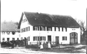Alte Schmiede um 1900