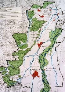Flurkarte um 1880