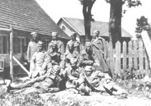 Serbische Kriegsgefangene 1914/18