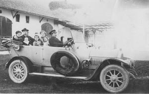 Erster Autobesitzer in Siebnach, Mohrenwirt