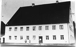 """Gasthaus """"Zum Mohren"""" um 1900"""