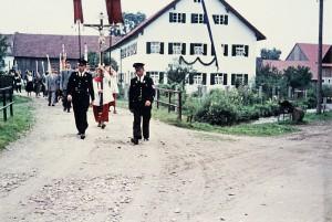 Mühlbachbrücke in den 60er Jahren