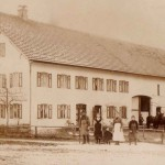 Anwesen Sirch 1912 mit Familie Sirch