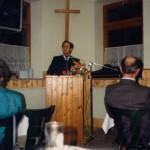 Landrat Dr. Haisch bei seiner Rede