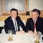 Gemeinderäte Martin Nägele und Josef Aigster