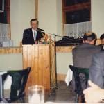 Ev. Pfarrer Linke bei seiner Ansprache