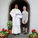 Pater Michael und Mesner Ludwig Ammann