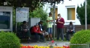 """Freifunker"" 2015 vor dem Gemeindeamt"
