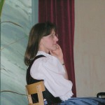 Karin Hartig begleitete den Liederkranz Ettringen am Klavier