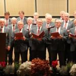 Als Gastchor trat der Männerchor aus Ottobeuren auf. Foto: Mindelheimer Zeitung