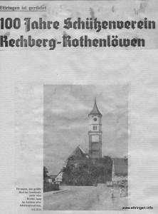 Mindelheimer Zeitung 1968