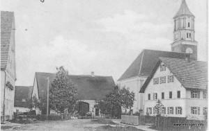 Das Mesnerhaus vor über 100 Jahren