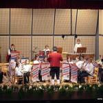 Die Jugendkapelle mit Dirigent Bernd Schmidt