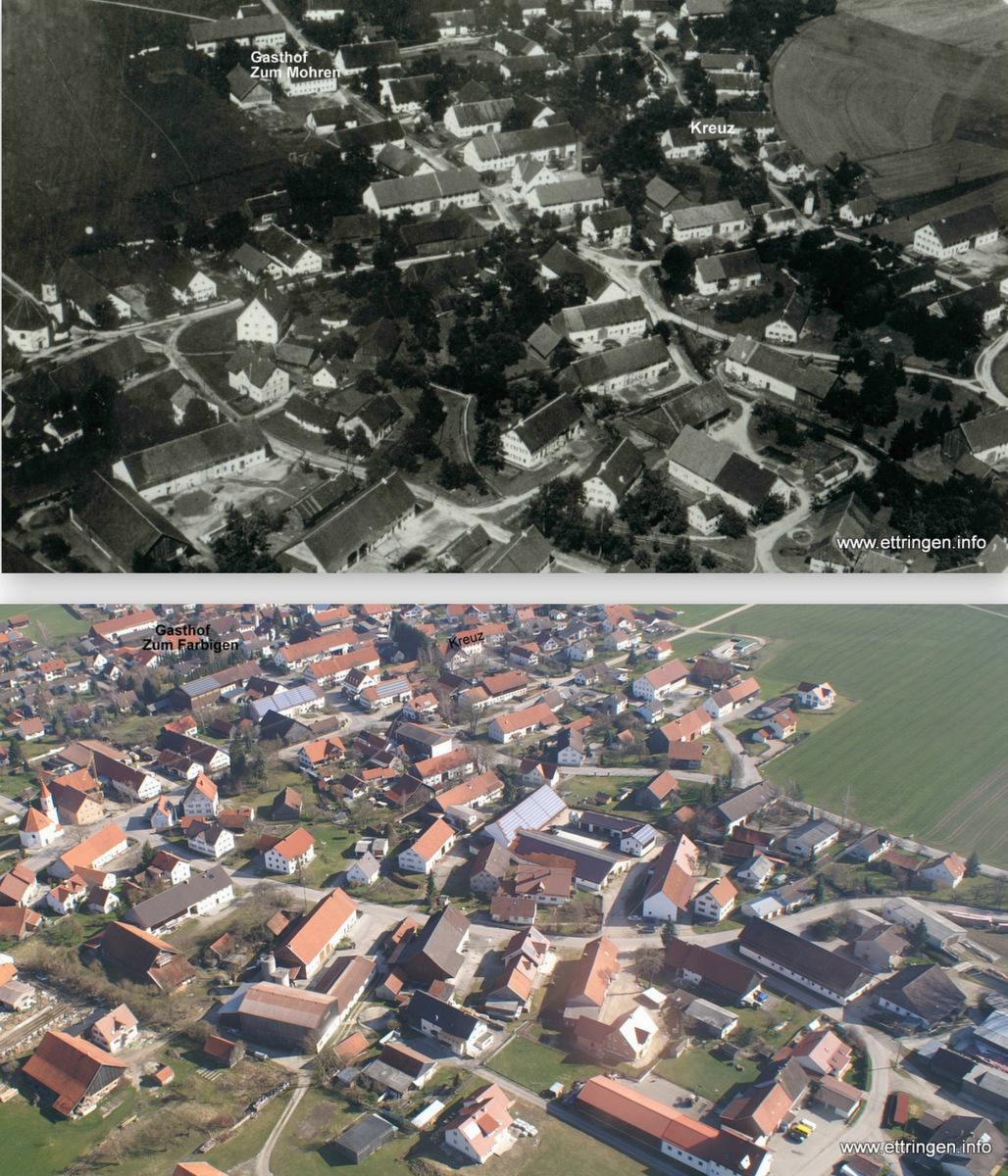 Siebnach 1922 und 2007