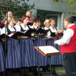 Liederkranz Ettringen mit Dirigent Thomas Müller