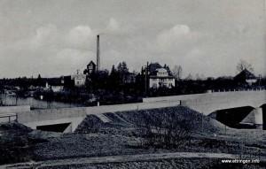 1929 erbaute Steinbrücke