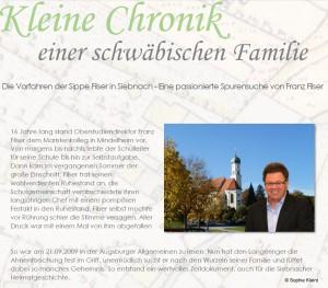 Chronik einer schwäbischen Familie