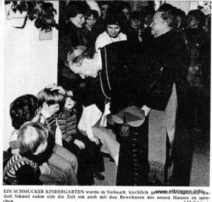 Einweihung 1979