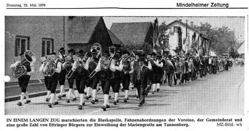 Marsch zur Mariengrotte 1979