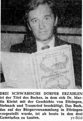 Dr. Martin Kleint 1977
