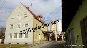 Lagerhaus im Februar 2017