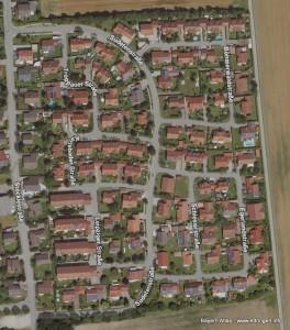 Satellitenaufnahme 2016 Ostsiedlung 2