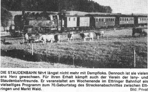 Staudenbahn