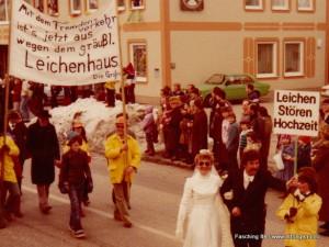 Faschingsumzug 1984