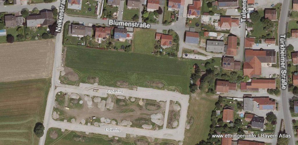 Satellitenaufnahme Bayern Atlas