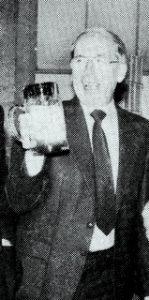Dr. Eduard Wittmann beim Betriebsfest 1989 Bild MZ emf