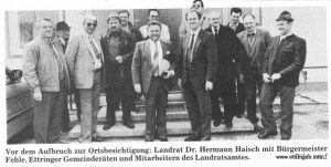 v.l.: Aigster, Mayr, Böck, Kornes, Schmid, Fehle, Haisch, Brazdil, Hochwind, Huber, Reiber