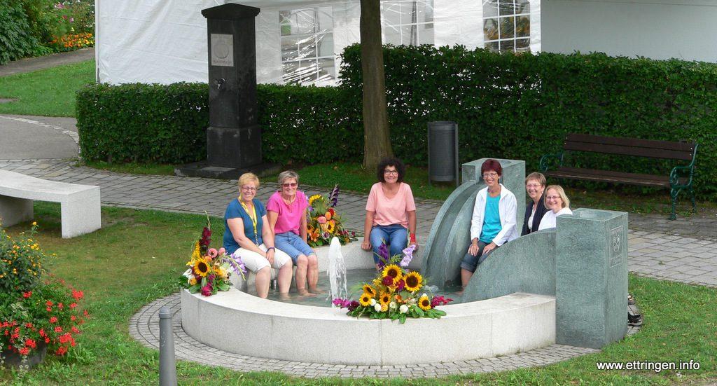 von links: Christina Stiegeler, Marianne Weidenspointner, Hannelore Hartner, Beate Lang, Doris Wucherer, Irmgard Ressel
