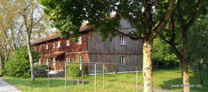 Das ehemalige Aussiedlerheim heute