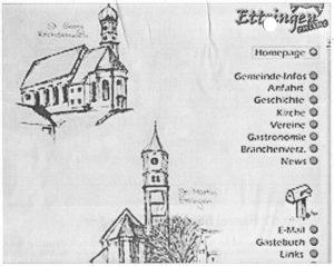 Die Startseite 1997