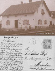 Ansichtskarte 1910
