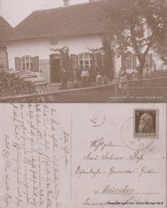 Ansichtskarte von 1911