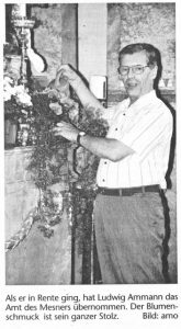Ludwig Ammann im Jahr 1999