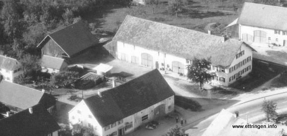 Das Anwesen in den 50ern