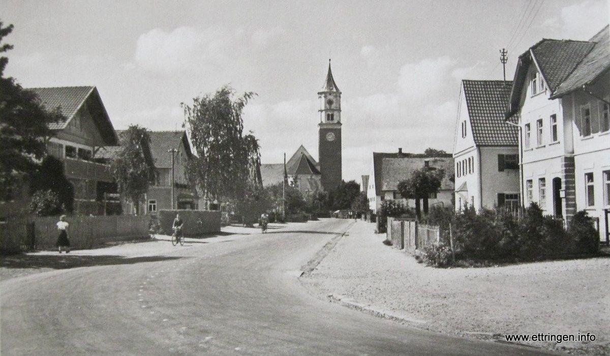 Kerlerkurve (Brunnenplatz) um 1950
