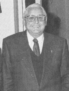 Bäckermeister Josef Riederer 1990