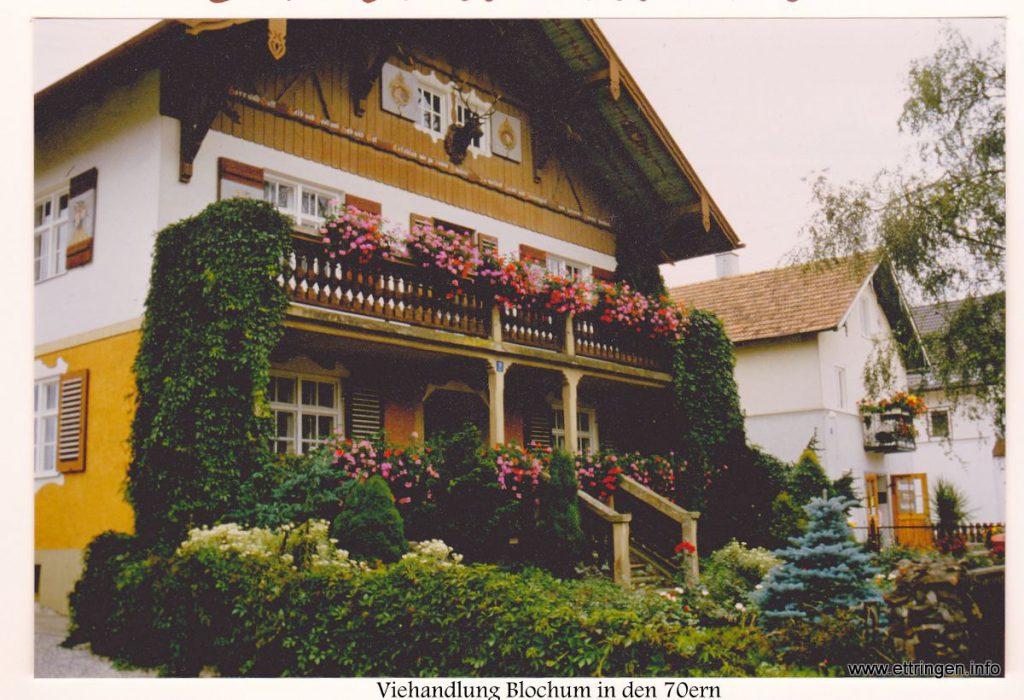 ... überreicht vom damaligen Vorstand des Ettringer Gartenbauvereins Kurt Wastl